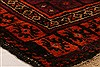 Baluch Orange Hand Knotted 30 X 50  Area Rug 253-28421 Thumb 5