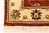 Ziegler Beige Runner Hand Knotted 25 X 201  Area Rug 250-28422 Thumb 9