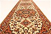 Serapi Beige Runner Hand Knotted 26 X 201  Area Rug 250-28424 Thumb 4