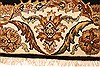 Sarouk Red Octagon Hand Knotted 186 X 186  Area Rug 250-28426 Thumb 3