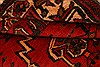 Baluch Red Hand Knotted 33 X 410  Area Rug 253-28430 Thumb 3