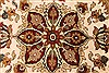 Jaipur White Round Hand Knotted 80 X 80  Area Rug 250-28431 Thumb 1