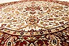 Jaipur White Round Hand Knotted 80 X 80  Area Rug 250-28431 Thumb 3