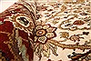 Jaipur White Round Hand Knotted 80 X 80  Area Rug 250-28431 Thumb 5