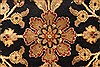 Jaipur Black Round Hand Knotted 710 X 710  Area Rug 250-28433 Thumb 1