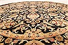 Jaipur Black Round Hand Knotted 710 X 710  Area Rug 250-28433 Thumb 3