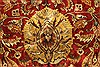 Tabriz Beige Hand Knotted 1111 X 1411  Area Rug 250-28436 Thumb 10