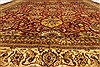 Tabriz Beige Hand Knotted 1111 X 1411  Area Rug 250-28436 Thumb 4