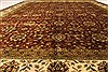 Kashan Beige Hand Knotted 1110 X 1411  Area Rug 250-28440 Thumb 4