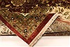 Kashan Beige Hand Knotted 1110 X 1411  Area Rug 250-28440 Thumb 6