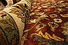 Kashan Beige Hand Knotted 1110 X 1411  Area Rug 250-28440 Thumb 7