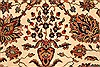 Agra Beige Hand Knotted 120 X 150  Area Rug 250-28443 Thumb 11