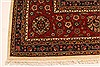 Agra Beige Hand Knotted 120 X 150  Area Rug 250-28443 Thumb 1