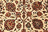 Agra Beige Hand Knotted 120 X 150  Area Rug 250-28443 Thumb 2