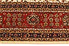 Agra Beige Hand Knotted 120 X 150  Area Rug 250-28443 Thumb 3