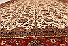 Agra Beige Hand Knotted 120 X 150  Area Rug 250-28443 Thumb 4