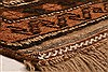 Baluch Brown Hand Knotted 30 X 47  Area Rug 100-28444 Thumb 5