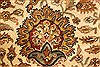 Kashmar Beige Hand Knotted 1110 X 1411  Area Rug 250-28446 Thumb 10