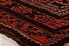 Baluch Orange Hand Knotted 33 X 47  Area Rug 253-28459 Thumb 1
