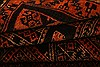 Baluch Orange Hand Knotted 33 X 47  Area Rug 253-28459 Thumb 4