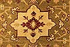 Agra Beige Hand Knotted 120 X 154  Area Rug 250-28462 Thumb 10