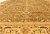 Agra Beige Hand Knotted 120 X 154  Area Rug 250-28462 Thumb 4