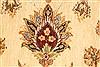 Pishavar Beige Hand Knotted 1111 X 183  Area Rug 250-28469 Thumb 5