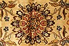 Kashmar Beige Hand Knotted 120 X 150  Area Rug 250-28475 Thumb 1