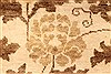 Modern Beige Hand Knotted 510 X 89  Area Rug 250-28480 Thumb 2