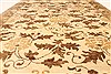 Modern Beige Hand Knotted 510 X 89  Area Rug 250-28480 Thumb 4
