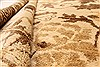 Modern Beige Hand Knotted 510 X 89  Area Rug 250-28480 Thumb 7