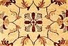 Pishavar Beige Hand Knotted 65 X 81  Area Rug 250-28484 Thumb 2