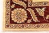 Pishavar Beige Square Hand Knotted 67 X 80  Area Rug 250-28485 Thumb 1