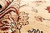 Pishavar Beige Square Hand Knotted 67 X 80  Area Rug 250-28485 Thumb 7