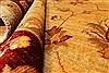 Pishavar Beige Square Hand Knotted 70 X 79  Area Rug 250-28487 Thumb 7