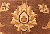 Pishavar Beige Square Hand Knotted 68 X 80  Area Rug 250-28488 Thumb 10