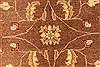 Pishavar Beige Square Hand Knotted 68 X 80  Area Rug 250-28488 Thumb 2