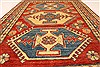 Kazak Red Hand Knotted 39 X 54  Area Rug 250-28499 Thumb 5
