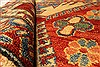 Kazak Red Hand Knotted 39 X 54  Area Rug 250-28499 Thumb 8