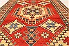 Kazak Red Hand Knotted 42 X 53  Area Rug 250-28500 Thumb 4