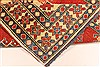 Kazak Red Hand Knotted 42 X 53  Area Rug 250-28500 Thumb 6