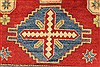Kazak Red Hand Knotted 40 X 49  Area Rug 250-28501 Thumb 3