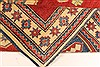 Kazak Red Hand Knotted 40 X 49  Area Rug 250-28501 Thumb 7