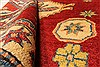 Kazak Red Hand Knotted 40 X 49  Area Rug 250-28501 Thumb 8