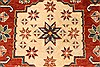 Kazak Red Hand Knotted 38 X 53  Area Rug 250-28502 Thumb 2