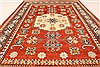 Kazak Red Hand Knotted 38 X 53  Area Rug 250-28502 Thumb 4