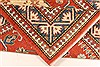 Kazak Red Hand Knotted 38 X 53  Area Rug 250-28502 Thumb 6
