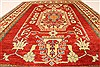 Kazak Red Hand Knotted 40 X 510  Area Rug 250-28503 Thumb 4