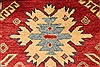 Kazak Red Hand Knotted 311 X 52  Area Rug 250-28507 Thumb 3