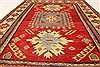 Kazak Red Hand Knotted 311 X 52  Area Rug 250-28507 Thumb 5